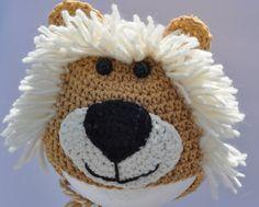 Crochet Beanie Hats The Edge of 17 Crochet Hats Crochet Animal Hats, Crochet Lion, Crochet Kids Hats, Crochet Beanie Hat, Crochet Cap, Crochet For Boys, Knitted Hats, Crotchet Animals, Beanie Hats