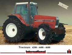 Caseih Prototype Le Moteur Dt 358 Equipe Le 4288 120 Cv Le Dt 402 Equipe Les 4488 Tracteurs D Epoque Tracteur Vieux Tracteur
