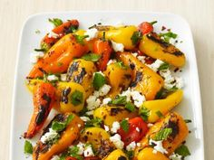 Baby Bell Peppers With Feta and Mint Recipe : Food Network Kitchen : Food Network