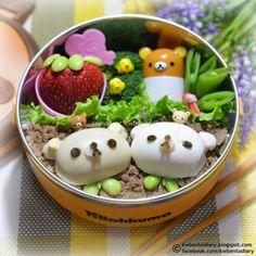 Karenwee's Bento Diary: Bento2014#Mar19~Rilakkuma & Friends