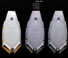 Spaceship Design, Robot Design, Gundam Tutorial, Robot Sketch, Futuristic Robot, Zeta Gundam, Gundam Custom Build, Sci Fi Models, Plastic Model Cars