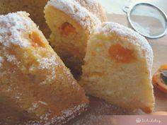 Sárgabarackos-túrós kuglóf Gourmet Recipes, Gourmet Foods, Cornbread, Pudding, Cheese, Ethnic Recipes, Pound Cakes, Millet Bread, Deli Food