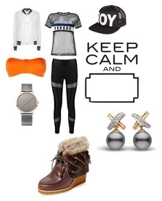 """keep calm"" by cecjones ❤ liked on Polyvore featuring Boohoo, Antipodium, BOY London, STELLA McCARTNEY, Versus and Australia Luxe Collective"