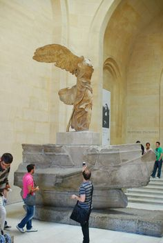Winged Victory of Samothrace, Lourve Museum, Paris.one of my favorite things to see in Paris. Paris 3, Louvre Paris, Paris City, Paris France, Lourve Museum, Winged Victory Of Samothrace, Paris Balcony, Hotel Des Invalides, What A Wonderful World