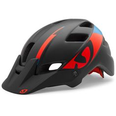 fdca28ce The Giro Feature Mountain Bike Helmet is comfortable and light, with some  unique features that set it apart from standard cross-country and road  helmets.