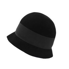 1950's Jean Patou Black Hat | From a collection of rare vintage hats at https://www.1stdibs.com/fashion/accessories/hats/