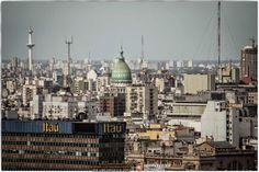 Espectaculares Vistas de Buenos Aires desde el Edificio Pirelli - Diciembre 2013