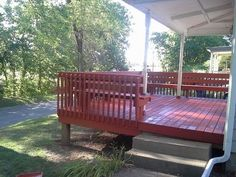 Restore your deck with Behr deck over - YouTube