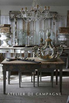 Atelier de Campagne ☆ Brocante, déco vintage industrielle brocante campagne