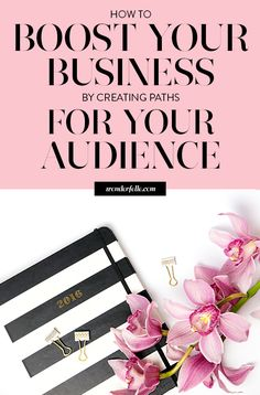 How to boost your business by creating paths for your audience - a guest post by Krista Rae