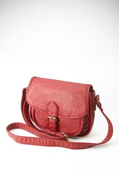 Faux Leather Crossbody Bag | Forever 21
