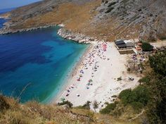 albania- i don't know if this is exactly where i was, but it looks very much like one of the beaches we visited while there.