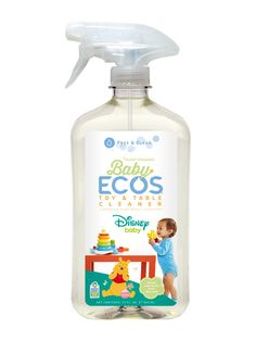 Use on all baby's dishes, bottles and utensils. Not only is Baby ECOS® Bottle & Dish Wash made from plants; it also has a beautifully balanced pH with all the strength you need. So effective you can use it on all your family's dishes! Green Cleaning, Spring Cleaning, Baby Net, Power Clean, Play Table, Baby Disney, Spray Bottle, Cleaning Wipes, Cleaning Supplies