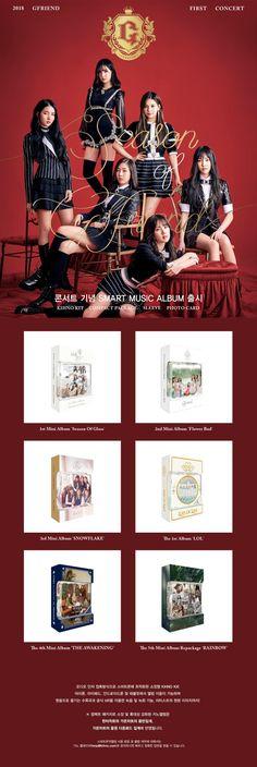 Smart Albums - Season of Gfriend 1st Concert official merch