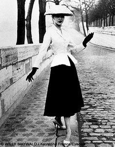 Mode 1940: la mode des années 40 vue par