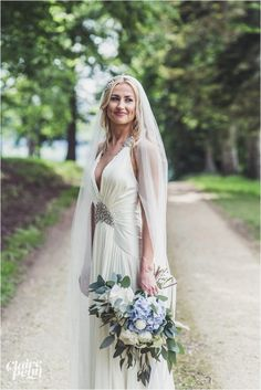 Beautiful blue wedding at a fairytale chateau in France - Davina & Ali — Claire Penn - UK & Destination Wedding Photographer Down Hairstyles, Wedding Hairstyles, Hair Down Styles, Blonde Bride, Bridal Hair Inspiration, Makeup Portfolio, Wedding Hair Down, Bridal Shoot, Bridal Makeup