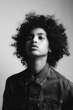 marcdegroot:  Gorgeous Imaan Hammam, H/M-up by Irena Ruben