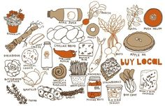 Food illustration by Claudia Pearson