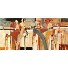 BAR by Yuri Tremler.  #Painting #Art #Nostalgia #Lines #Design…