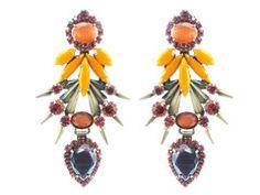 Elizabeth Cole Jewelry - Strieker in Orange