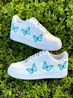 Cute Nike Shoes, Cute Sneakers, Cute Converse, Adidas Shoes, Custom Painted Shoes, Custom Shoes, Swag Shoes, On Shoes, Tenis Nike Air