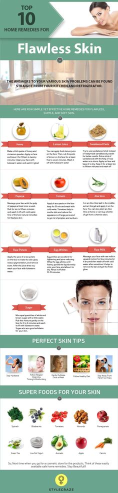Top 10 Home Remedies For Flawless Skin