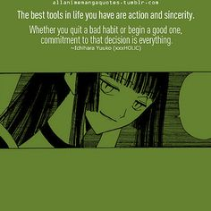 Anime quotes: XXXholic by Animenger ~Sweet_Love~, via Flickr
