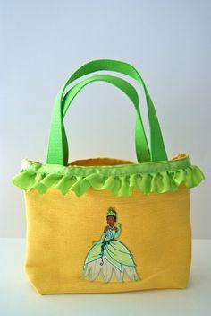 Princess Tiana Inspired Tote Bag on Etsy, $23.00