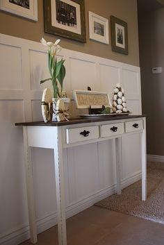 DIY entry way table by petra