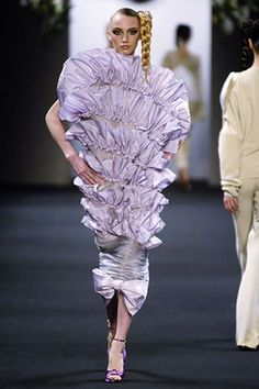 "Viktor and Rolf ""Upside-down"" dress Spring/Summer 2006 this is the stupidest thing I have ever seen!"