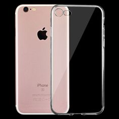 [$0.28] For iPhone 7 0.75mm Ultra-thin Transparent TPU Protective…