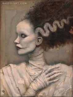 Tim Burton's Creations.   THE BRIDE OF FRANKENSTEIN: William Basso William...