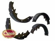 WILLYS JEEP BRAKE SHOE SET FOR 4 WHEELS CJ3B CJ5 CJ6 M38A1 807376 NEW!