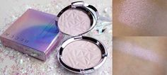 Becca Cosmetics new limited edition Skin perfector pressed highlighter in Prismatic Amethyst has a beautiful purple/lavender tone. It's being launched by the e