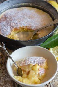 Lemon Dessert Recipes, Lemon Recipes, Sweet Recipes, Cake Recipes, Lemon Pudding Recipes, Food Cakes, Cupcake Cakes, Cupcakes, Italian Lemon Cake