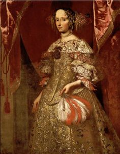 1660-1675 Unknown artist - Portrait of a noblewoman