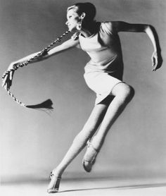 Veruschka von Lehndorff, is a German model who was popular in the 1960s. Her father tried to assasinate Hitler. photo by richard avedon