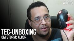 Tec-Unboxing: Unboxing e teste do mouse CM Storm Alcor, da Cooler Master