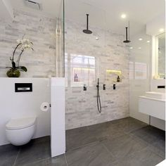 65 Stunning Contemporary Bathroom Design Ideas To Inspire Your - bathroom wall designs pictures