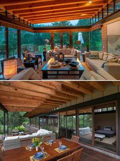 casas de madeira arquitetura e construção - Pesquisa Google
