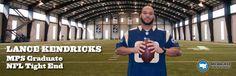 Lance Kendricks: NFL Player #StartStaySucceedMPS