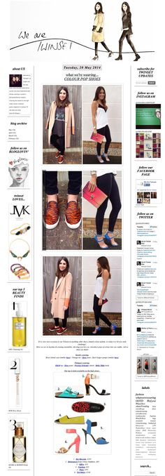 Ted Baker Footwear on We are Twinset 20.05.14
