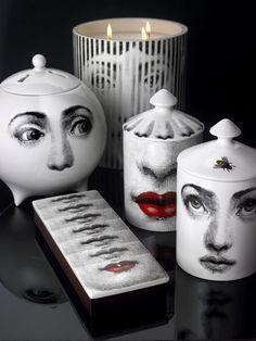 LUV DECOR: O centenário da Fornasetti how cool are these!