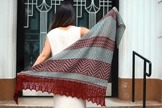 Ravelry: Fugue in Mosaic Minor pattern by Kirsten Kapur