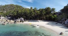 Secluded and tranquil, Bedarra Island Villa is a luxury beach house located on the remote island of East Bedarra in Tropical North Queensland. Island Villa, Dream Beach Houses, Mission Beach, Luxury Camping, Holiday Accommodation, Weekends Away, Luxury Holidays, Island Life, Beach Fun