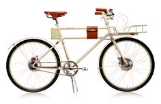 Faraday Porteur - a new ELECTRIC commuter bicycle looking for support on kickstarter.   Get the extra power boost when you need it riding in the city!    http://www.kickstarter.com/projects/faradaybikes/faraday-porteur