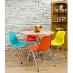 Retro Decorating Ideas: 1960s Dinette Set by Retro Planet. | Chairs and Table sold separately at Retro Planet