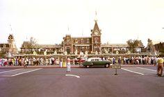 Opening day - July 17, 1955 - Disneyland