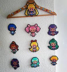 Sailor Moon perler beads by sand.kind