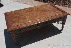 Before & After: Coffee Table Makeovers. Pinned this for the ikea makeover which we have and needs to be updated.